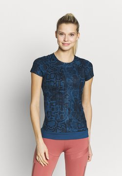 adidas by Stella McCartney - T-Shirt print - visblu