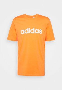 adidas Performance - Camiseta estampada - true orange