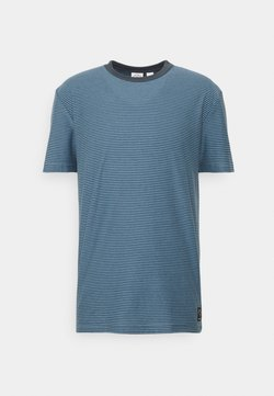 Quiksilver - BUTLER  - T-shirt con stampa - blue heaven