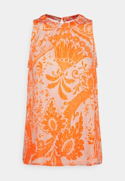 Emily van den Bergh - Bluse - sand/orange