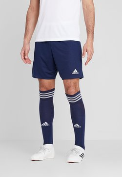 adidas Performance - PARMA PRIMEGREEN FOOTBALL 1/4 SHORTS - kurze Sporthose - dark blue/white