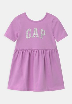GAP - TODDLER GIRL LOGO - Robe en jersey - purple rose