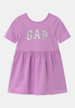 GAP - TODDLER GIRL LOGO - Vestido ligero - purple rose