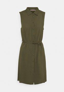 Anna Field Petite - Vestido camisero - olive
