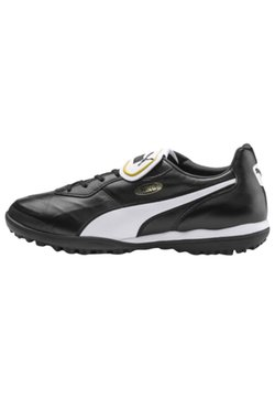 Puma - Astro turf trainers - black-white