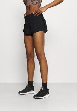 Under Armour - RUSH STAMINA SHORT - Pantalón corto de deporte - black