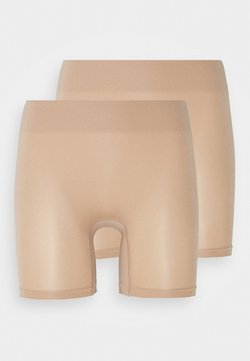 Anna Field - 2 Pack HW seamless short - Shapewear - beige