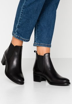 Anna Field - LEATHER BOOTIES - Ankelboots - black