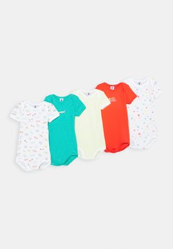 Petit Bateau - BABY BODIES 5 PACK - Body - red/green