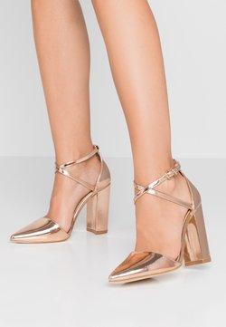 RAID - KATY - Zapatos altos - rosegold metallic