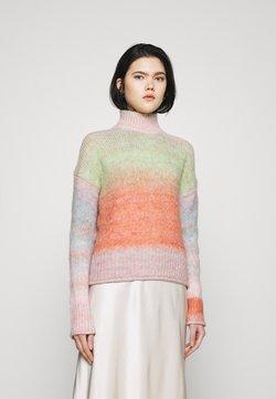 ONLY - ONLGRACE HIGHNECK  - Jersey de punto - pink nectar/multicolor