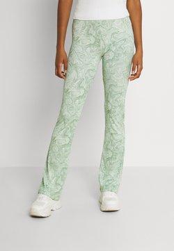 Envii - ENMARGAUX PANTS - Broek - green marble