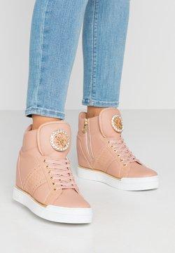 Guess - FREETA - Baskets montantes - blush