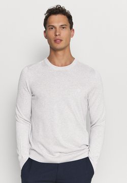 Marc O'Polo - CREW NECK - Strickpullover - twentyfour grey