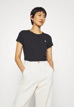 Abercrombie & Fitch - ICON CREW TEE - Basic T-shirt - black