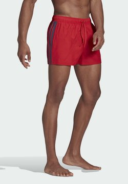 adidas Performance - CLASSIC 3-STRIPES SWIM SHORTS - Szorty kąpielowe - red