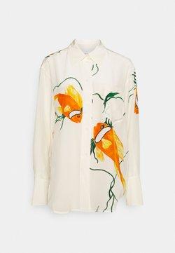 Victoria Beckham - OVERSIZED  - Skjorta - orange/cream