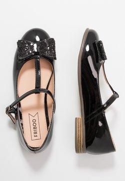 Friboo - Bailarinas con hebilla - black