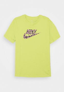 Nike Sportswear - TEE - T-shirt imprimé - limelight/pink rise