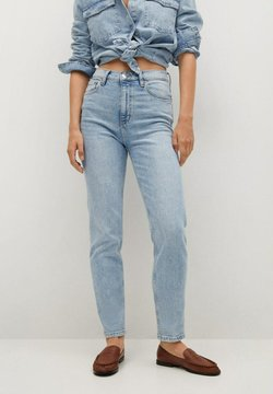 Mango - Slim fit jeans - bleu clair