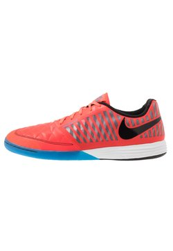 Nike Performance - LUNAR GATO II IC - Chaussures de foot en salle - bright crimson/black/white/photo blue
