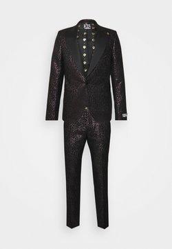 Twisted Tailor - SUNDA SUIT SET - Costume - black pink