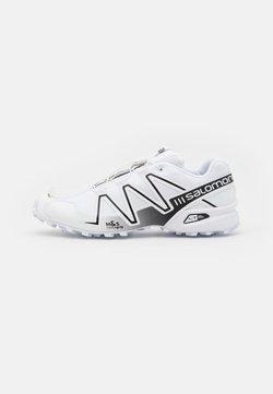Salomon - SPEEDCROSS 3 UNISEX - Sneaker low - white/alloy