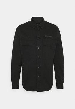 Woodbird - HOXEN WORK SHIRT - Overhemd - black