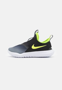 Nike Performance - FLEX RUNNER UNISEX - Zapatillas de running neutras - smoke grey/volt/black/white
