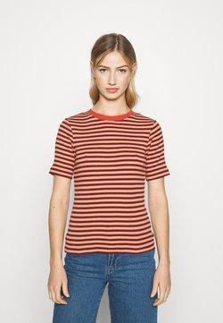 Lee - RIBBED TEE - T-Shirt print - sandy peach