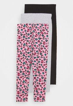Friboo - BASIC GIRLS 3 PACK - Leggings - pink/light grey