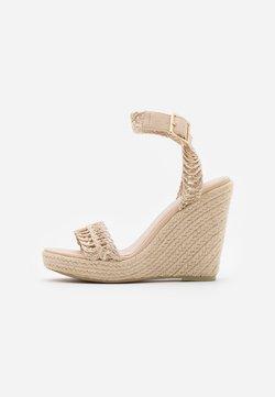 NA-KD - Sandalen met hoge hak - natural