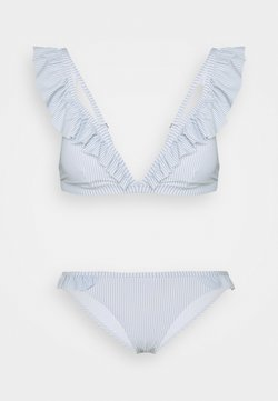 Pieces - PCGWEN SET - Bikini - kentucky blue/cloud dancer
