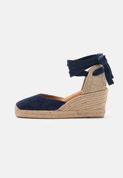 Unisa - CANDIDA - Platform sandals - ocean