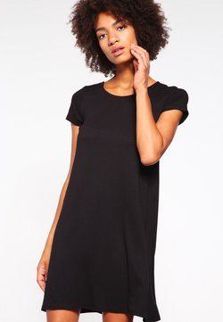 ONLY - ONLBERA BACK DRESS - Jerseyjurk - black
