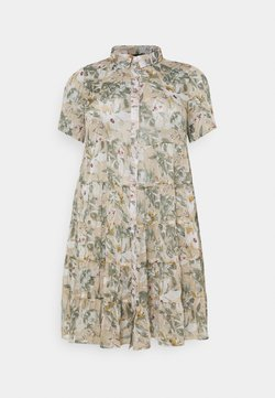 Zizzi - MOLLIE DRESS - Freizeitkleid - beige