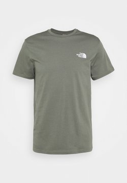 The North Face - MENS SIMPLE DOME TEE - T-shirt basic - agave green