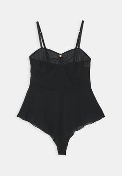Coco de Mer - PENELOPE TEDDY - Body - black