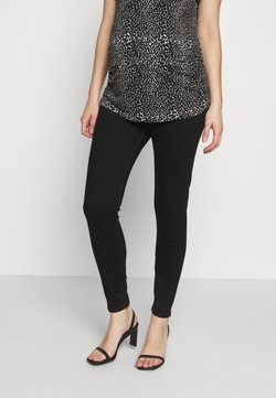 River Island Maternity - MOLLY MATERNITY BLACKRL MAY FLOW - Jeans Skinny Fit - black