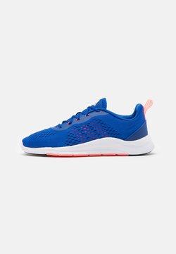 adidas Performance - TRAINER X - Sportschoenen - royal blue/signal pink/footwear white