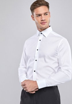 Next - REGULAR FIT - Camicia - white