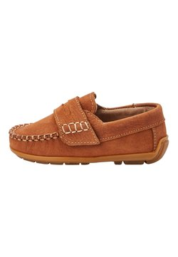 Next - NAVY NUBUCK PENNY LOAFERS (YOUNGER) - Mokassin - brown