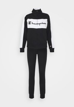 Champion - SET - Trainingsanzug - black
