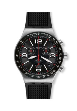 Swatch - VERY DARK GRID - Montre - black
