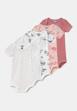 Petit Bateau - 5 PACK - Body - white/red/blue