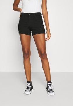 Hollister Co. - Jeansshorts - black