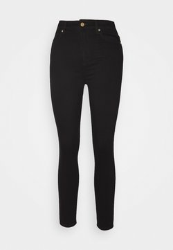 7 for all mankind - AUBREY ILLUSION FAME - Jeans Skinny Fit - black