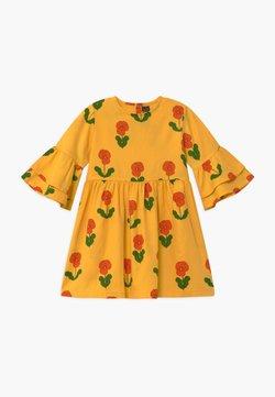 Mini Rodini - VIOLAS FLARED SLEEVE - Blusenkleid - yellow