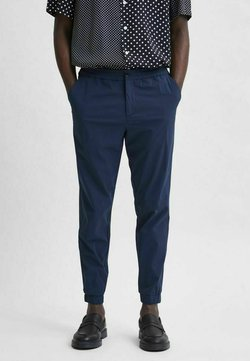 Selected Homme - Chinosy - navy blazer