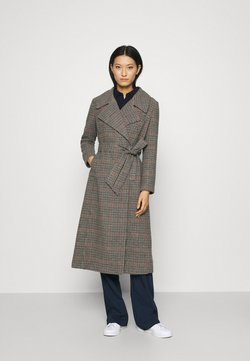 Who What Wear - BELTED TRENCH - Abrigo - multi